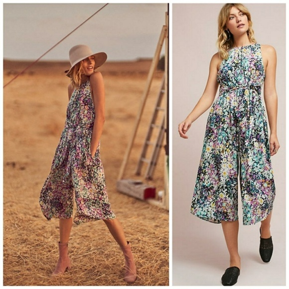Anthropologie Dresses & Skirts - NWT Plenty by Tracy Reese Selena Floral Jumpsuit